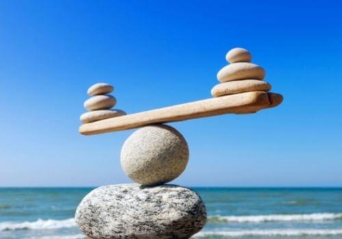balance para una vida sana y saludable